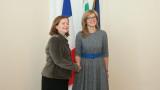 За ясен контрол за парите на ЕС се обявиха Екатерина Захариева и Натали Лоазо