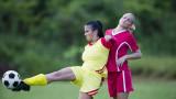 Когато жените играят на терена...