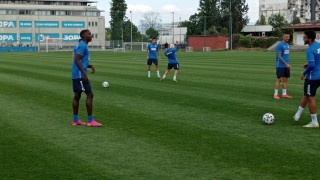 Хосе Кордоба направи първа тренировка с Левски
