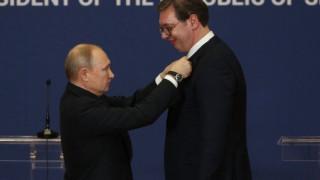 Путин се извини на Вучич за обидния постинг на Захарова