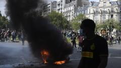 """Сълзотворен газ и над 120 задържани на подновените протести на """"жълтите жилетки"""" в Париж"""