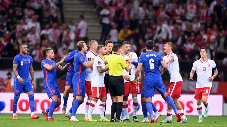 Полша и Англия не се победиха след здрав мач