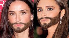 Светът лудна по брадата на Кончита (СНИМКИ)