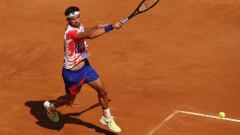 Григор Димитров на 1/4-финал в Рим, постигна обрат срещу млад талант на домакините