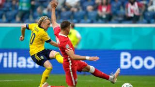 Форсберг е Играч на мача Швеция - Полша
