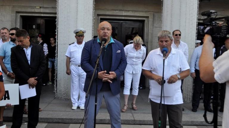 Министър Кралев присъства на откриването на Европейското първенство по ветроходство за деца в Бургас