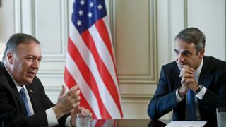Мицотакис се жалва на Помпео: Турция оспорва суверенитета на Гърция и Кипър