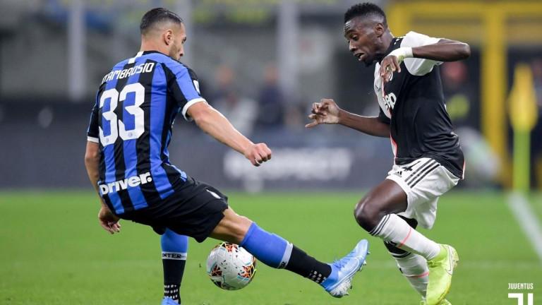 Защитникът на Интер ДанилоД`Амброзио със сигурност пропуска предстоящия мач на