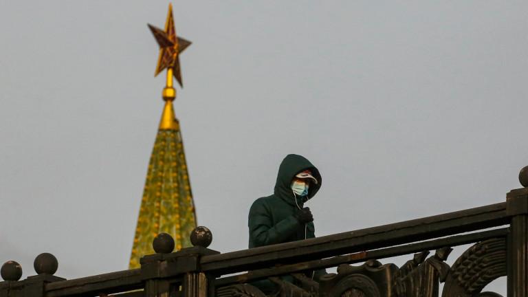 Рекордни над 25 000 заразени с коронавируса за 24 часа в Русия