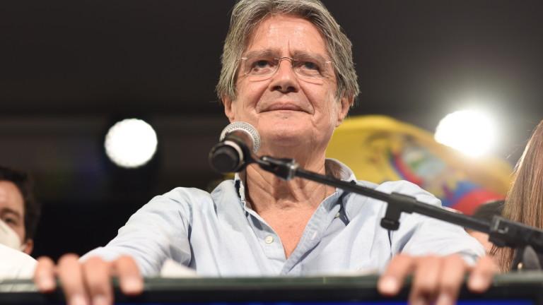 Консерваторът Гилермо Ласо е новият президент на Еквадор