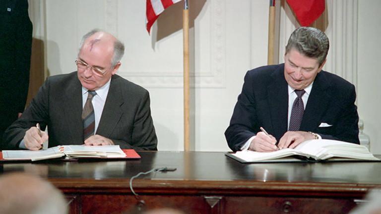 Договорът Рейгън-Горбачов е мъртъв, потвърдиха Русия и САЩ