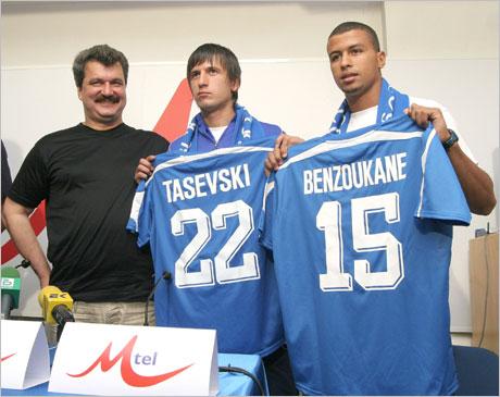 Дарко Тасевски получи българско гражданство