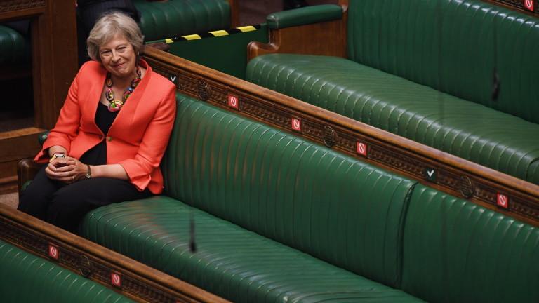 Бившият премиер на Великобритания Тереза Мей се опълчи на плановете