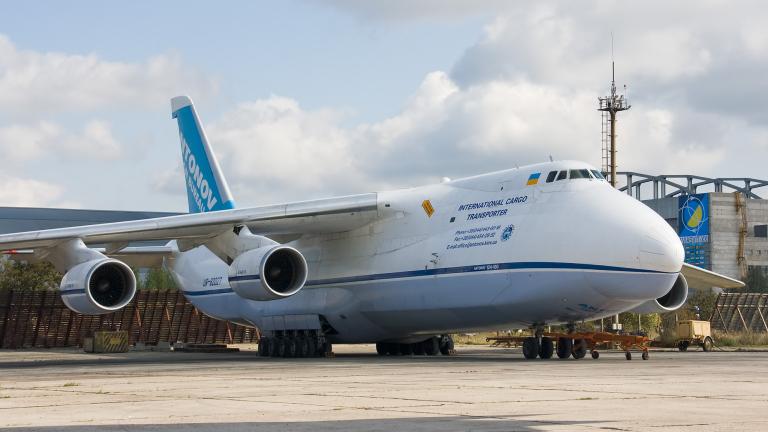 Снимка: Украйна възобновява производството на самолети Ан-124 Руслан