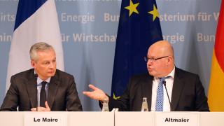Франция и Германия предлагат право на вето на Съвета при антимонополни решения на ЕК