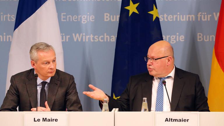 Снимка: Франция и Германия предлагат право на вето на Съвета при антимонополни решения на ЕК