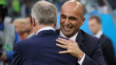 Роберто Мартинес обеща да не е махмурлия по време на утрешния Малък финал на Мондиал 2018