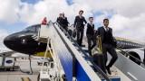 Самолетът на Борусия (Дортмунд) се размина с тежка катастрофа на летището в Мадрид