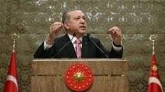 Ердоган даде зелена светлина на референдума за увеличаване на правомощията си
