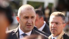 Радев подкани Борисов да се кандидатира за президент