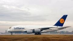 У нас кацна най-големият пътнически самолет