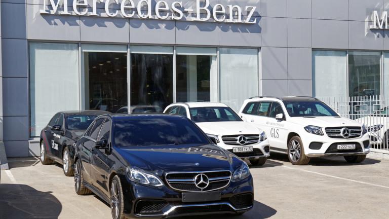 """Възглавниците Takata и """"дизелгейт"""" струват на Mercedes €4,2 милиарда"""