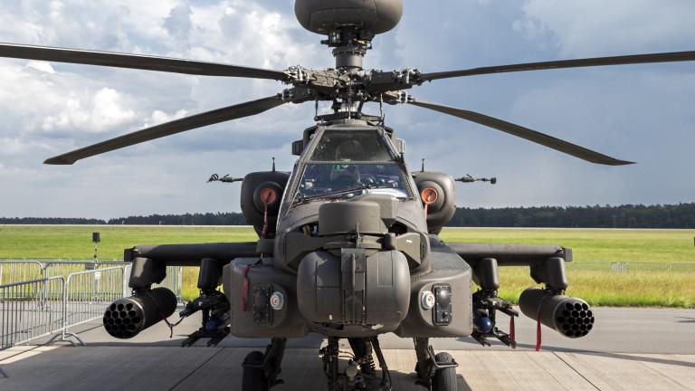 САЩ доставя най-новите бойни Apache на Великобритания, Холандия и ОАЕ