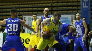 Левски с 20-а загуба и последно място в баскетбола ни