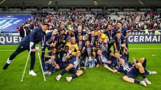 ПСЖ излъга Сент Етиен във финала за Купата на Франция, Мбапе се контузи