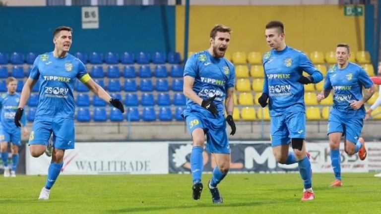 Антонио Вутов с първи гол в Унгария