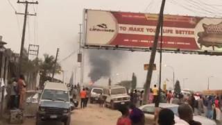 Цистерна избухна в Нигерия и уби най-малко 18 души
