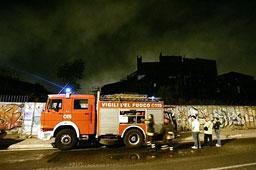 """Пожар в киностудио унищожи декорите за филма """"Рим"""""""