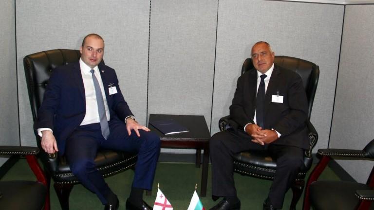България ще продължи да съдейства на Грузия в процеса на