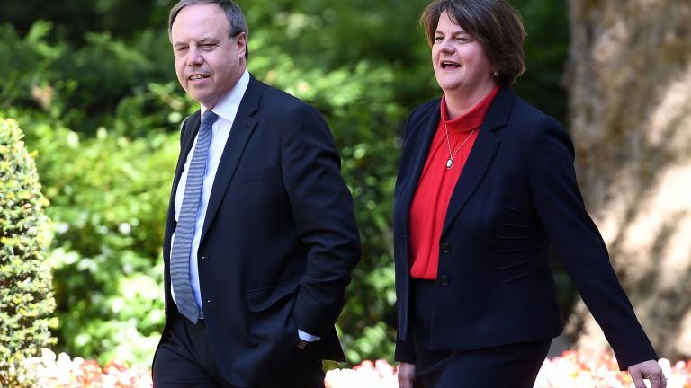 Демократичната юнионистка партия няма да подкрепи сделката за Брекзит