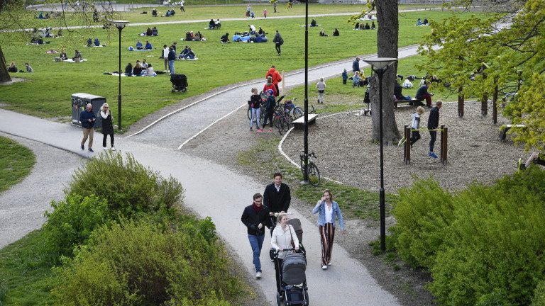 Само 7,3% с антитела в Стокхолм