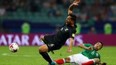 """Мексико обърна Нова Зеландия след почивката и излезе начело в група """"А"""""""