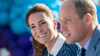 Уилям и Кейт на любимото място на Даяна