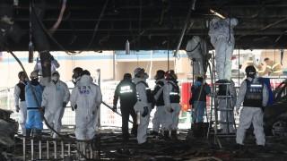 Южнокорейският президент Мун Дже-Ин потушава гражданския гняв след пожара