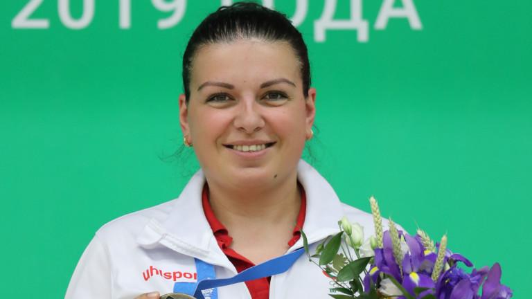 Втори медал за Антоанета Бонева в Минск