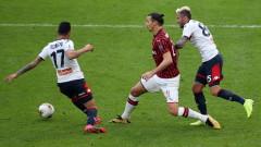 """Милан загуби от Дженоа с 1:2, в мач от Серия """"А"""""""