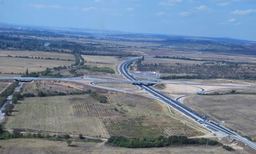"Гаф за милиони: Проектанти забравили отбивка за Бургас на магистрала ""Марица"""