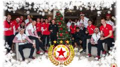 ЦСКА поздрави феновете си за Коледа