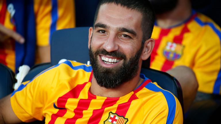 Атакуващият халф на Барселона - Арда Туран категорично отрече спекулациите,