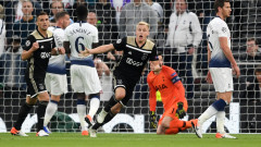 Аякс победи Тотнъм с 1:0 в първи полуфинален мач в Шампионската лига