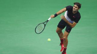 Роджър Федрер на четвъртфинал след отлична игра срещу германец