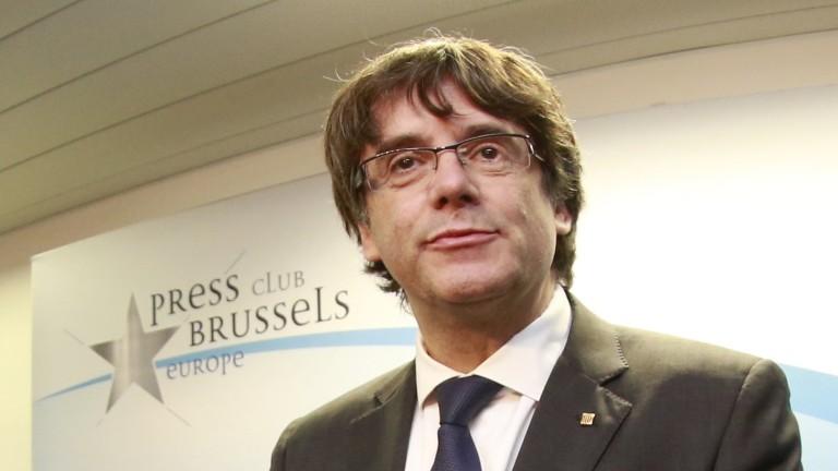 Испания издаде европейска заповед за арест на Пучдемон
