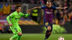 Интер иска под наем Артуро Видал от Барселона