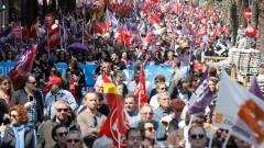 66 арестувани на първомайските демонстрации в Петербург