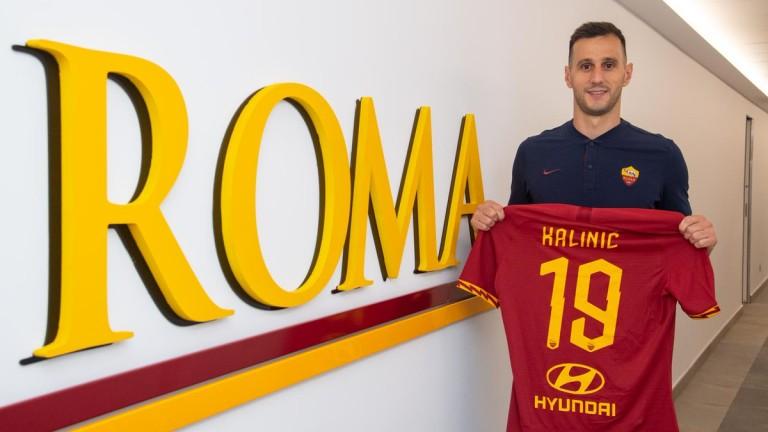 Играещият под наем в Рома Никола Калинич може да остане