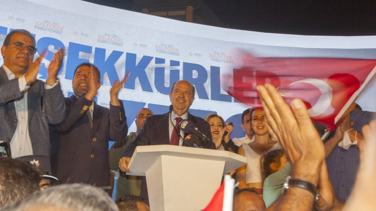 Човек на Ердоган спечели президентските избори в Северен Кипър